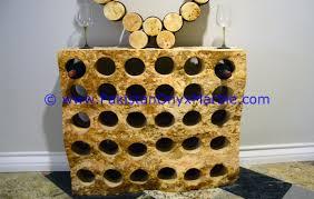 onyx wine bottle holder onyx wine rack white multi brown rough