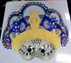 halloween paper mache masks win a decopatch papier mache mask decopatch zentangle dayofthedead