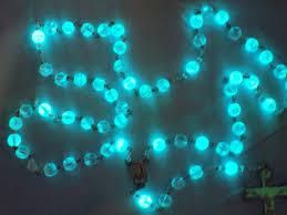 glow in the rosary glass glow in the rosary clear glow in the glass