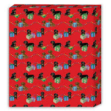 dachshund christmas wrapping paper dachshund christmas wrapping paper the danbury mint