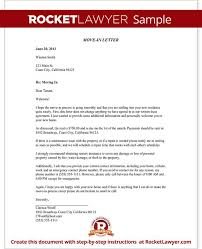 sample letter to notify landlord of moving tenant move out notice