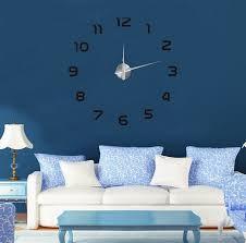 Home Decoration Sale 2016 New Clock Watch Wall Clocks Horloge 3d Diy Acrylic Mirror