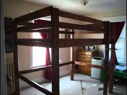 Plans For Making A Loft Bed by Build Your Own Loft Bunk Bed Twin Full Queen King Child