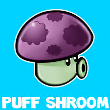 zombie cinderella tutorial how to draw puff shroom from plants vs zombies with illustrated