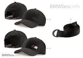 bmw m apparel bmw m collection caps belts 16 18 bmw accessories catalog