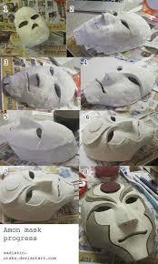 Halloween Masks Craft Ideas by Best 25 Paper Mache Mask Ideas On Pinterest Animal Heads