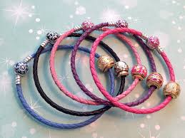 pink leather bracelet images The leather bracelets by ninaqueen png
