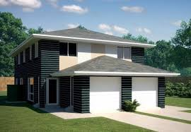 Home Design For Narrow Block Narrow Block 2 X 3 Bedroom Townhouse Kit Home Designs Australian