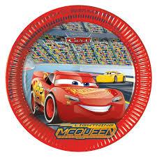 assiette imitation ardoise cars 3 assiettes 23cm u2013 la grande récré vente de jouets et jeux