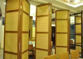 folding hanging sliding door 65mm training room folding partition