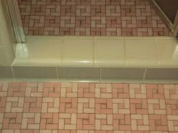 unglazed porcelain ceramic bathroom floor tiles retro renovation