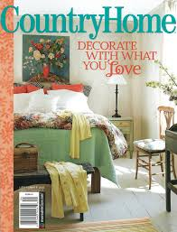 bricolage new country home magazine and a plan b