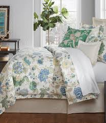 dillards girls bedding villa by noble excellence olivia floral cotton and linen comforter