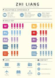 Best Infographic Resumes by 10 Awesome Resume Designs For Your Inspiration Infographic