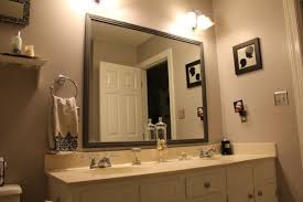 stunning country bathroom mirrors framed beside wall mounted towel