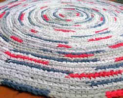 Crochet A Rag Rug Rag Rug Braided Crochet Lilly Pulitzer Inspired