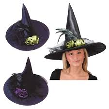 halloween hats fancy feather witch hat halloween