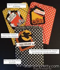 spooky fun halloween treat bags stampin u0027 pretty