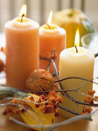21 candles centerpiece ideas for thanksgiving decorating on small