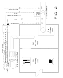 patent us20100318230 kitchens exhaust hood and make up air
