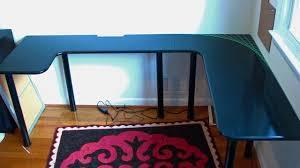 U Shaped Computer Desk Build Your Own U Shaped Computer Desk For Less Than 100 Desks