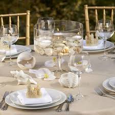 Wedding Table Setting Ideas Sea Inspired Table Setting And Ideas For Your Beach Themed Party