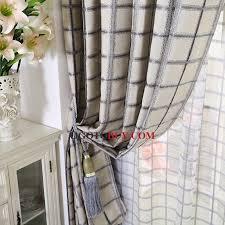 Grey Plaid Curtains Grey Plaid Curtains Decor Mellanie Design