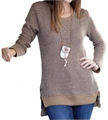 fitted sweater fashionable tunic sweater fitted scoop neck yaknyetiretail