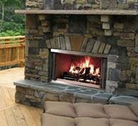 Outdoor Fireplace Caps by Villawood Outdoor Wood Fireplace Heatilator