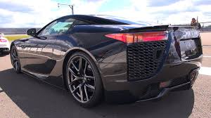 lexus lfa 2016 black lexus lfa brutal revs accelerations u0026 fly by u0027s youtube