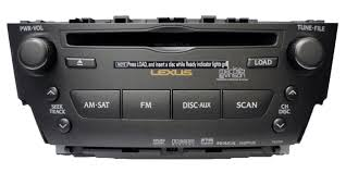lexus radio brand lexus is f is250 is350 radio 6 cd changer player mark levinson