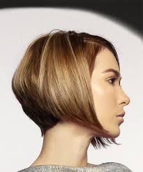 blonde bobbed hair with dark underneath short straight casual bob hairstyle dark blonde
