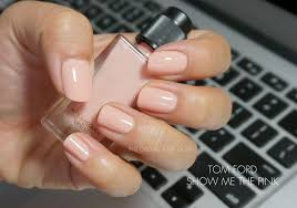 tom ford show me the pink nail lacquer fall 2013 the beauty