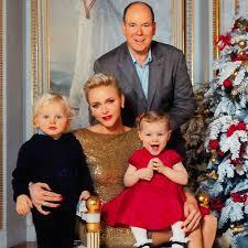 monaco royal family christmas card 2016 popsugar celebrity uk