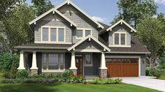 craftsman 2 story house plans craftsman style house plans 2841 square foot home 2 story 4