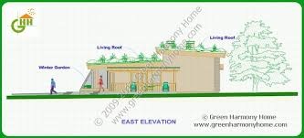 green home design plans green passive solar house plans 1