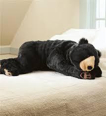 bear hug body pillow animal body pillows plow u0026 hearth