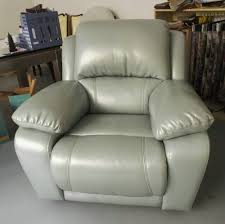 Real Leather Recliner Sofas by Modern Genuine Leather Sofa Recliner Sofa Rock Function Office