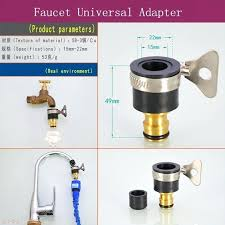 kitchen faucet to garden hose adapter hose faucet adapter garden hose adapter design and outdoor