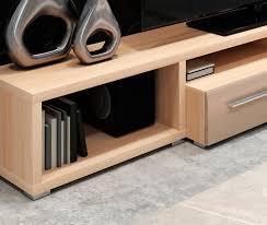 light wood tv stand lumio tv stand light oak mokko mod manhattan modern manhattan