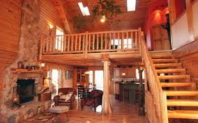 cabin floor lovable log cabin floor plans with loft using wooden railing