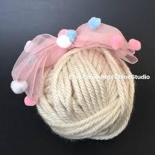 tulle hair bows pom pom bow pompoms bow pom pom hair bow easter tulle hair bow