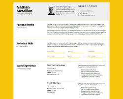 Creative Online Resume by Bold Cv Template Resumepro Graphicriver Resume 2017 40605 Plgsa Org