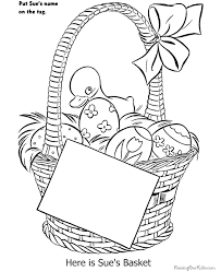 free easter coloring 007