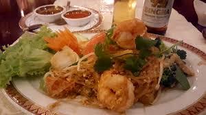 thai küche solide etwas angepasste thai küche bild restaurant suan thai