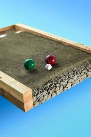 Build Your Own Home Kit by How To Build A Backyard Bocce Ball Court