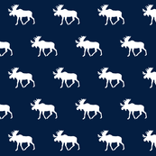 moose wrapping paper moose fabric wallpaper gift wrap spoonflower
