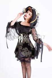 Halloween Costumes Evil Queen Black Queen Cosplay Dress Witch Halloween Fancy Dress Costume