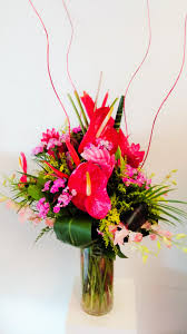 Tropical Design Tropical Design With Orchids In San Gabriel Ca Creative Floral