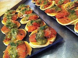 cuisine micheline canape au saumon beautiful jambon ou saumon sur canapé la cuisine de